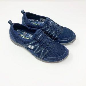 Skechers | Empress Navy Slip On Sneakers